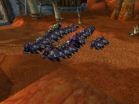 Lots of bears outside Orgrimmar
