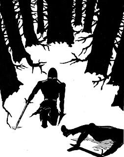 guerrero bosque