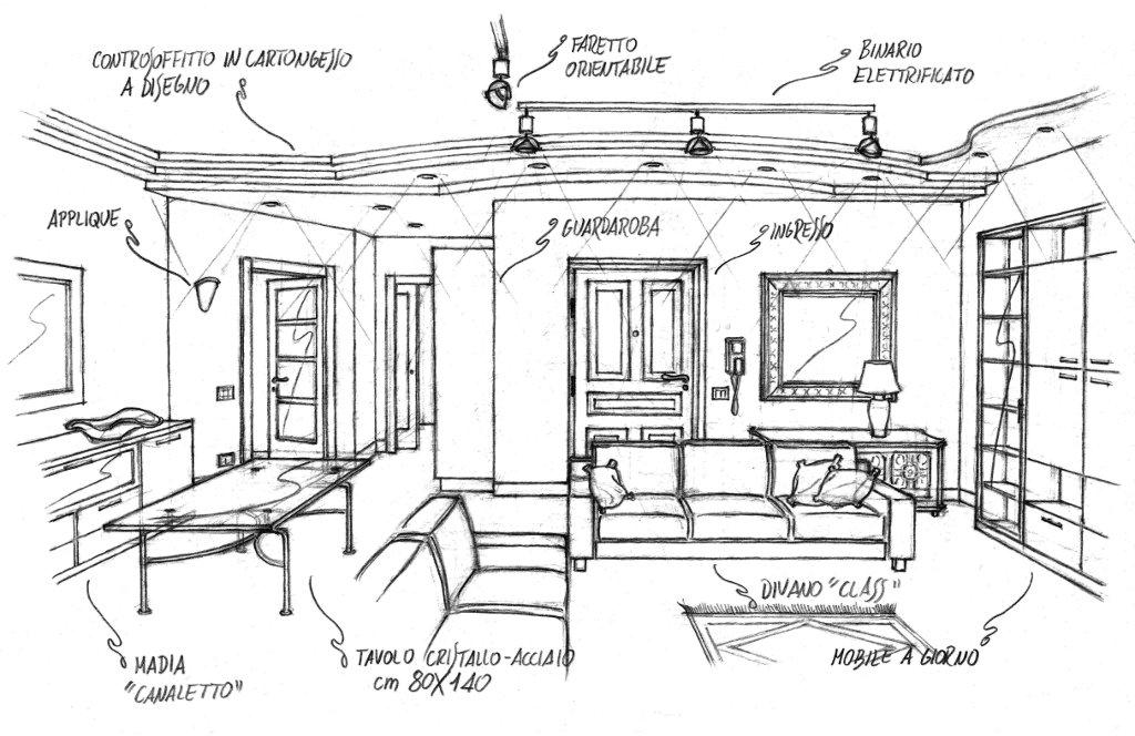 Architettura d 39 interni 3 la mia cartella for Architettura d interni on line