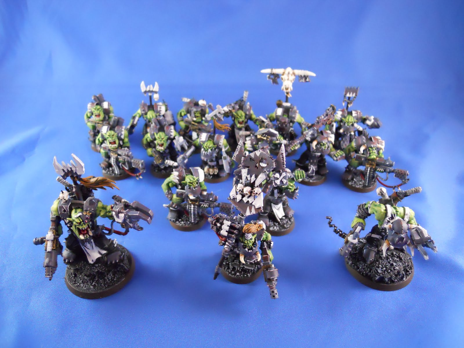 mini projects  warhammer 40k ork army