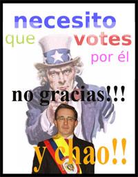 Uribe no fim de linha