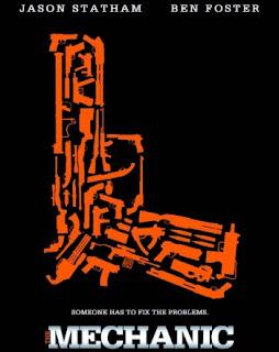 Cartel oficial de la película The mechanic estrenada en febrero de 2011
