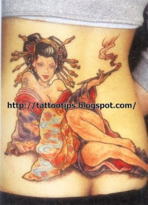 Sexy Japanese Tattoo