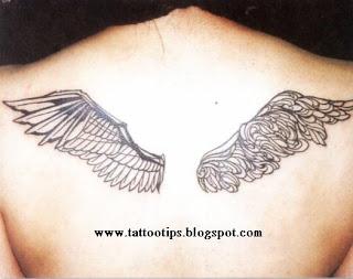 Angel Symmetry Tattoo