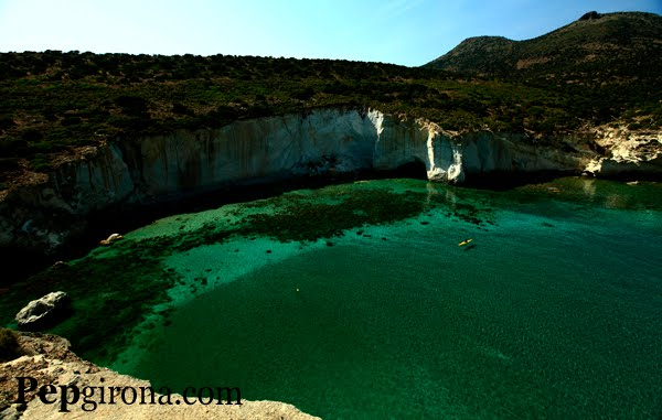 Hem Anomenat a aquest lloc: Paradis Roger (Milos. Grècia)