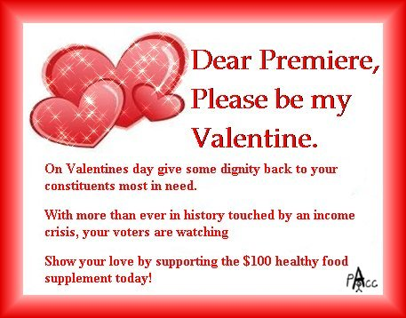 Poverty Awareness in York Region Send Your Political Valentines
