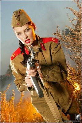guns and russian women