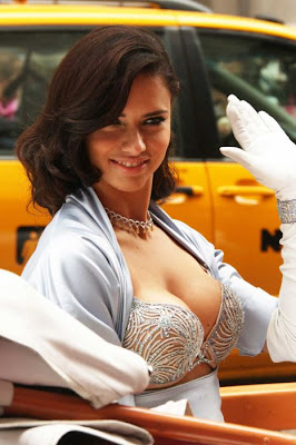 adriana lima breast