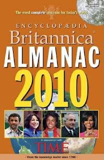 baixar capa Almanaque 2010 Enciclopédia Britannica