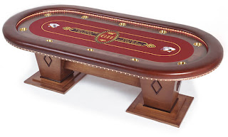 tables de poker. Black Bedroom Furniture Sets. Home Design Ideas