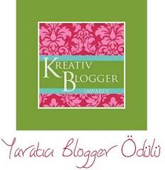 yaratıcı blog ödülü