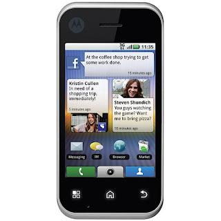 Review Smartphone of Motorola Android Backflip