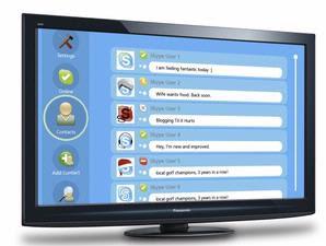 Skype Offers Chatting Via TV