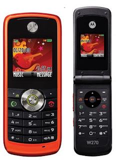 Review Mobile Cell Phone Motorola W230