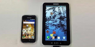 Review Samsung Galaxy Tab Android Smartphone