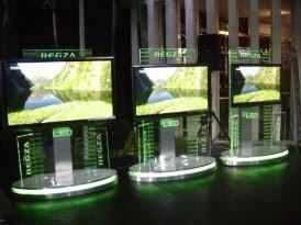 Toshiba Prepare Television Three Dimensions