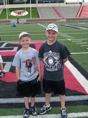The Backwards K Corral Texas Tech Football Camp