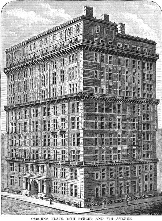 The 1885 Osborne Flats 205 West 57th Street