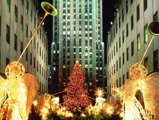 Daytonian in Manhattan: The Rockefeller Center Christmas Tree