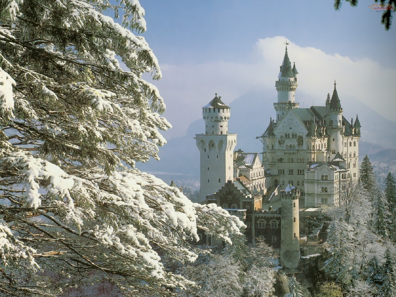 A Love Of The Past Winter Magic Among The Castles