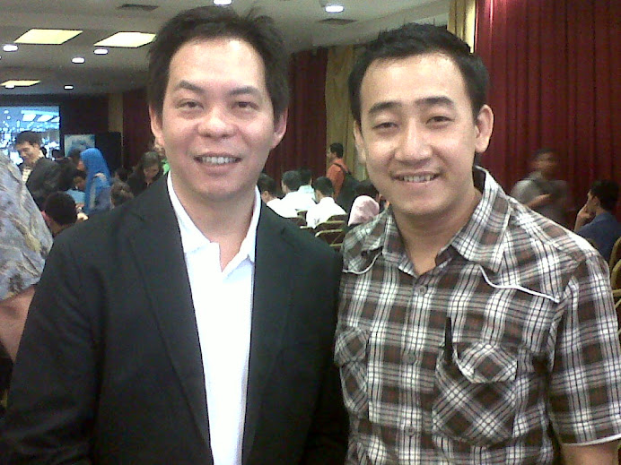 With Ewen Chia, S'pore