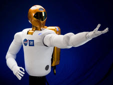 Robonaut 2 in satellite news