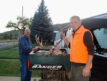 Ash and Grandpa Keith and his Deer!