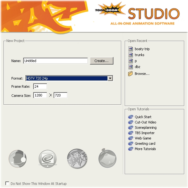 Toon Boom Tutorials: Framerate and camera size