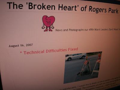 Broken Heart of Rogers Park
