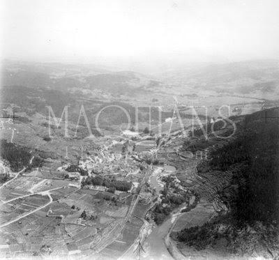 Foto Aerea Ribadavia 1969
