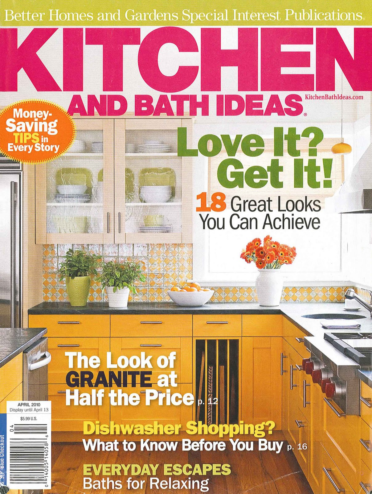 Bhg Kitchen Design bob's blog: better homes and gardens: kitchen and bath ideas