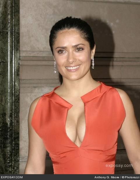 salma hayek. salma hayek grown ups bathing