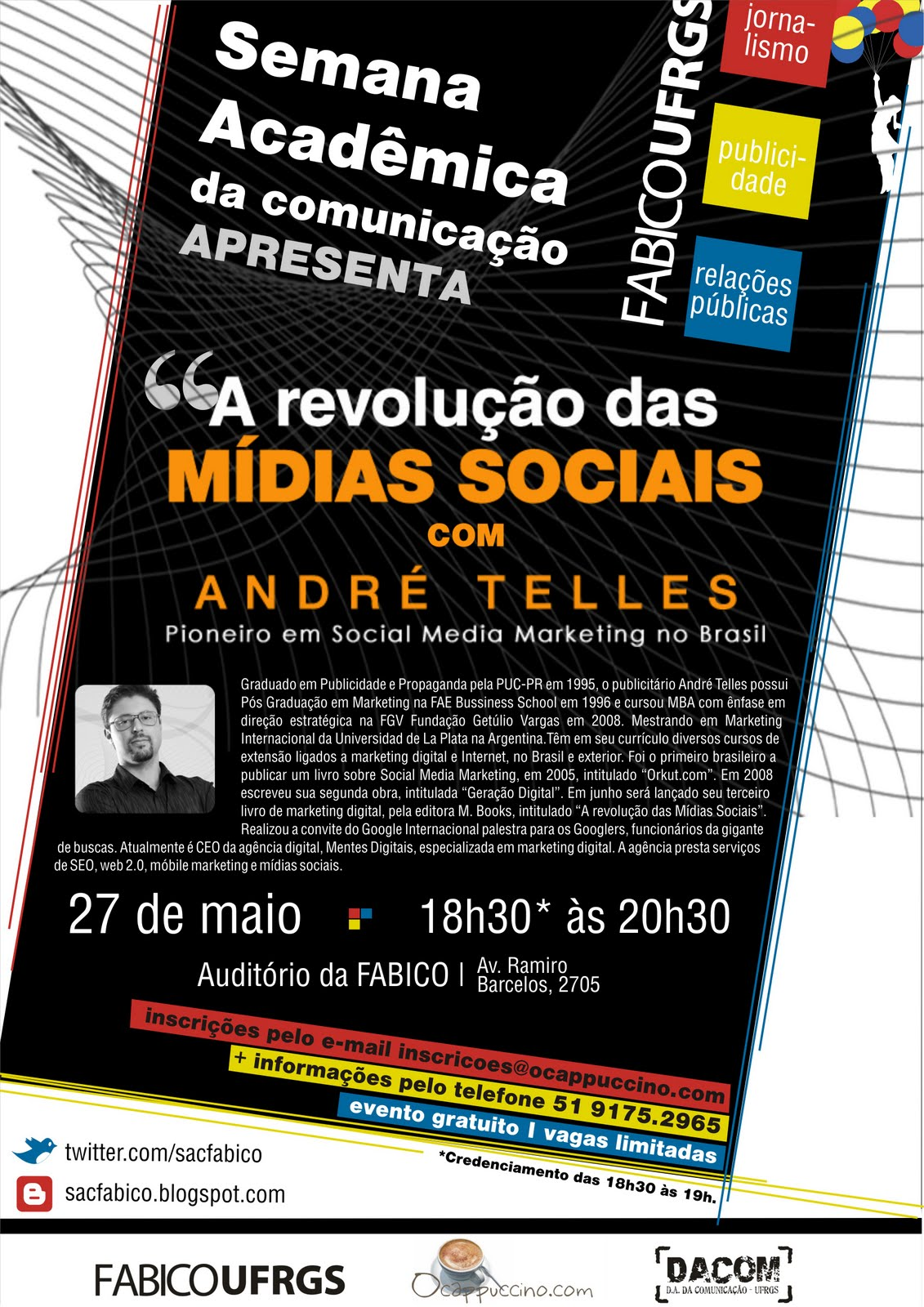 Palestra do @AndreTelles