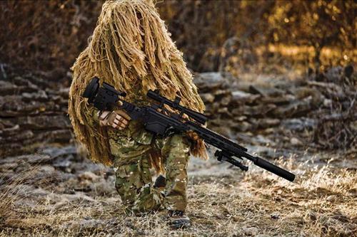 Atiradores Americanos já estão de pose do rifle 'M24 modernizado'