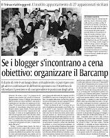 Clicka per ingrandire l'articolo de La Sicilia