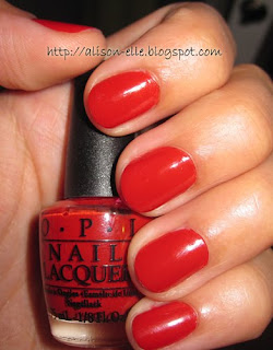 OPI Off With Her Red!