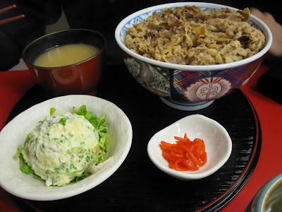 Gyudon Ya Beef Bowl