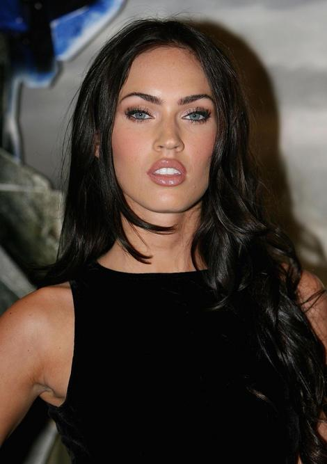 megan fox hair. megan fox hair up.