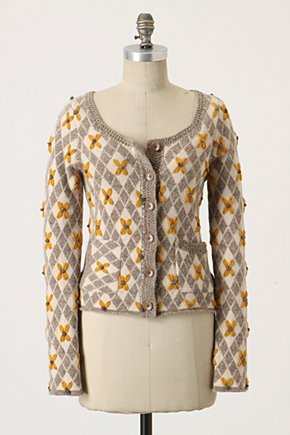 Remaining Lilies Cardigan - $128. Reminds me a bit of the Embroidered