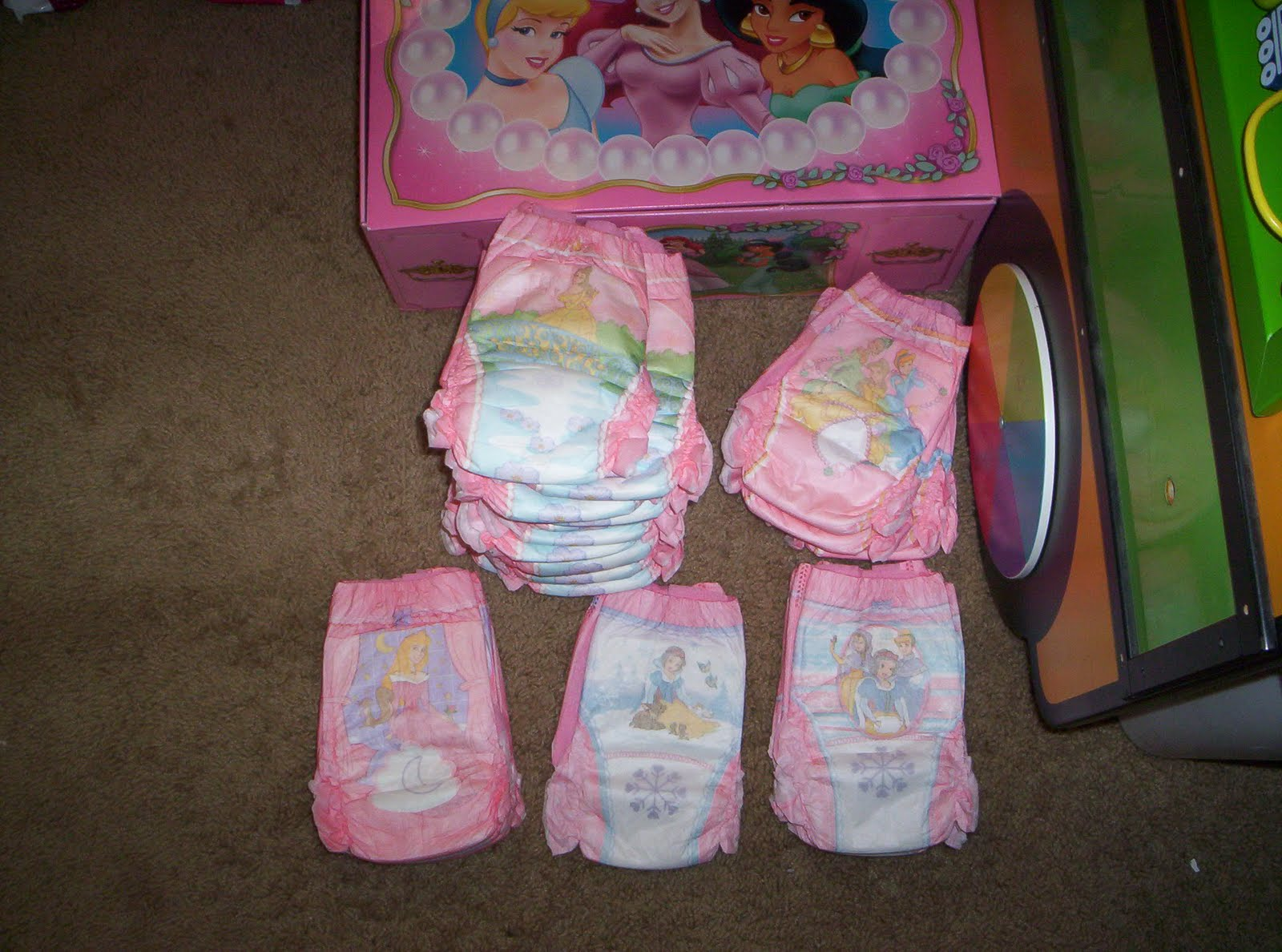 Princess Pull Ups Diapers