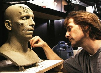 sculpting on 'passion of the christ'