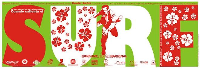 Exposición de carteles de Diseño / Concierto Surf