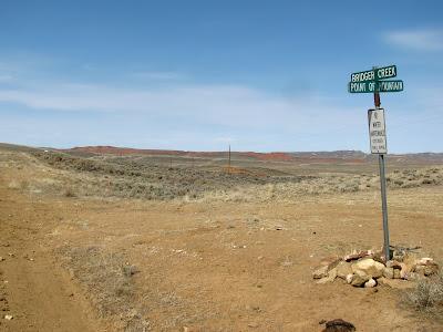 Bridger Creek Road, Wyoming