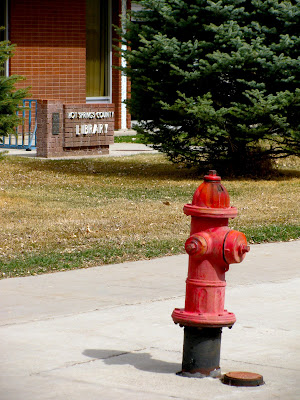 fire hydrants in Thermopolis, Wyoming
