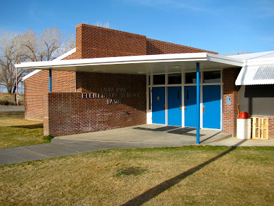 Laura Irwin Elementary School, Basin, Wyoming