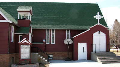 St. Andrew's Episcopal Church, Basin, Wyoming