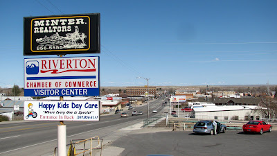 Camber of Commerce, Visitor Center, Riverton, Wyoming