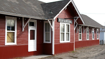 train depot, Riverton, Wyoming