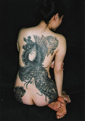 Pictures Yakuza Tattoo Designs of Japanese Girls