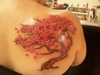 beautiful Cherry Blossom Tattoo design beautiful Cherry Blossom Japan Tattoo